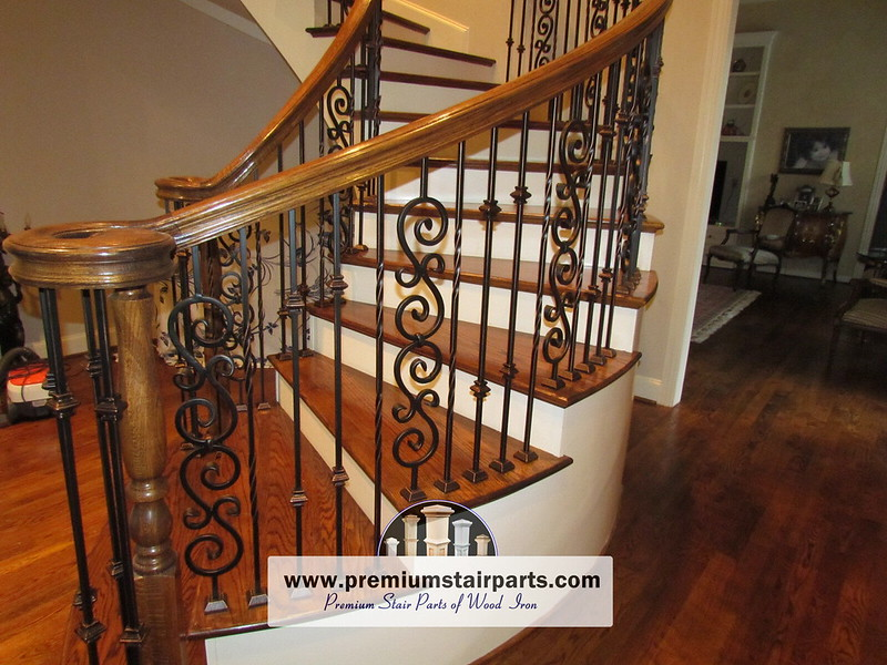 Iron Balusters Iron Stair Parts Parts For Stair Railing 39 In 2020 Iron Handrails Iron Balusters Iron Stair Balusters