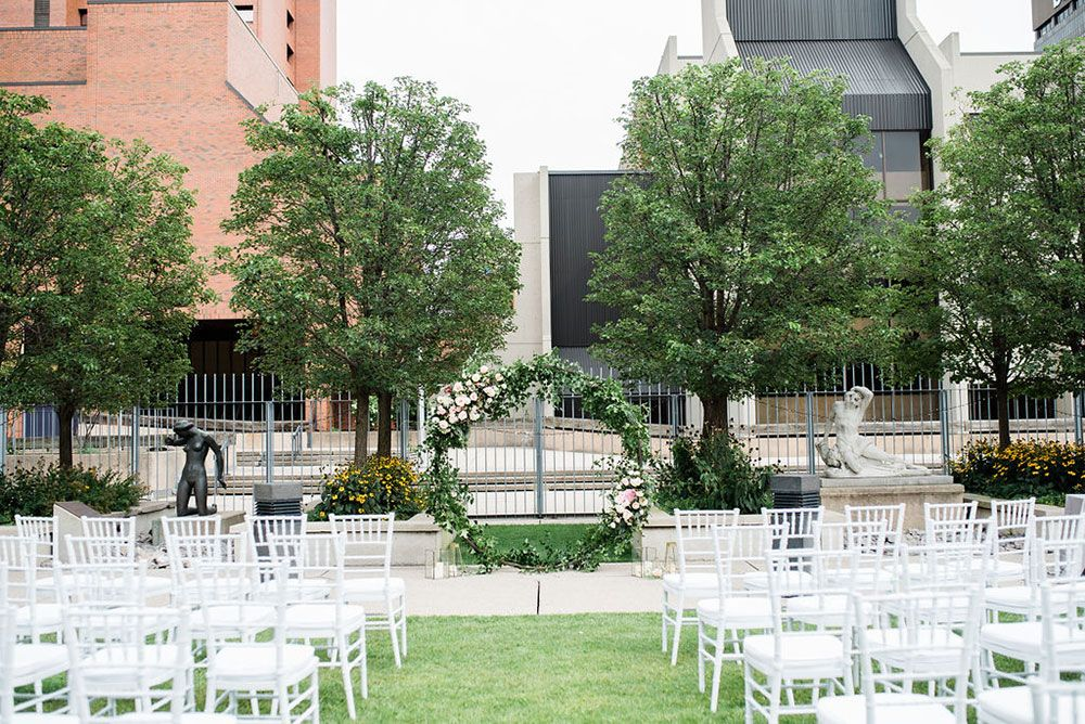 Vivian Lyttle Events A Love Story At The Art Gallery Of Hamilton Vineyard Bride Southern Ontario S Wedding Resource Art Gallery Of Hamilton Art Gallery Wedding Outdoor Wedding Ceremony