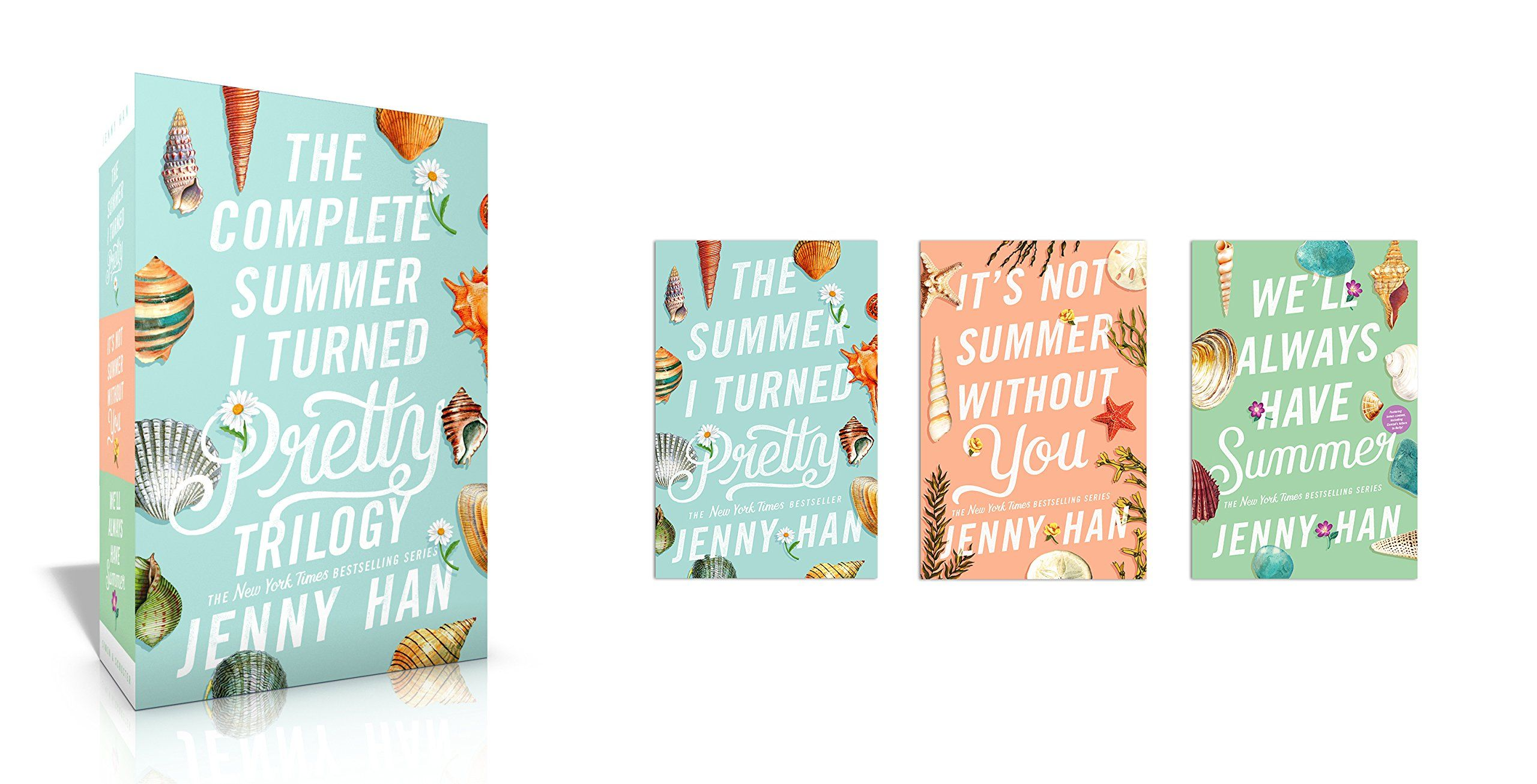 The Complete Summer I Turned Pretty Trilogy The Summer I Turned Pretty It S Not Summer Without You We Ll Always Have Jenny Han Turn Ons Trilogy