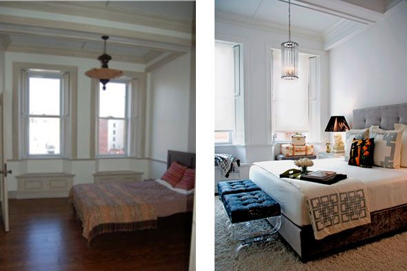 Bedroom Makeovers Before And After bedroom makeovers before and after | before and after: bedrooms