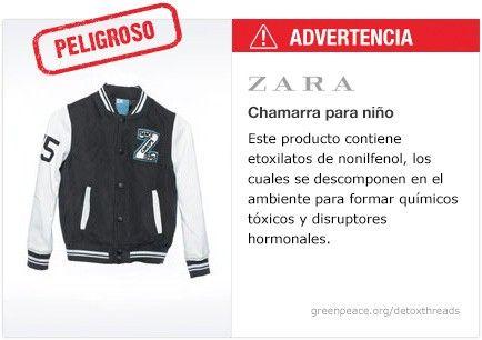 Zara Chamarra   #Detox #Fashion