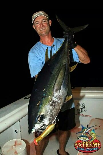 Jimmy Nelson with a nice tuna!