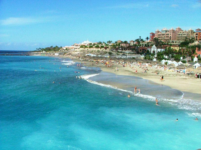 Photo Playa Fanabe Tenerife Beach Paradise Tenerife