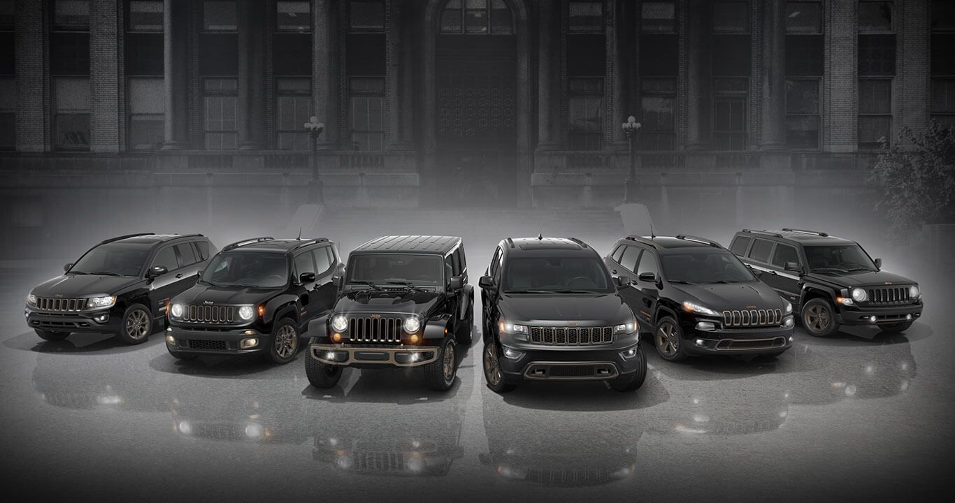 Jeep 75th Anniversary Edition Special Edition Models Jeep