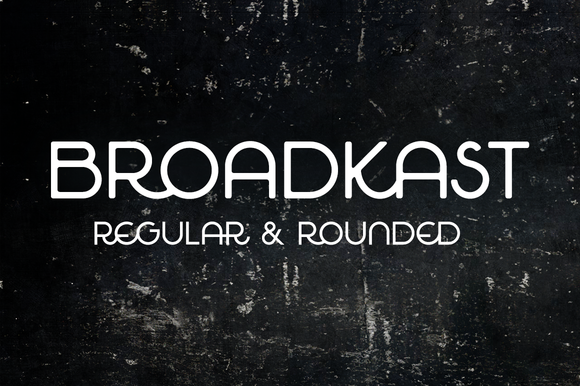 Broadkast by Matylda Mcilvenny on creativemarket Best