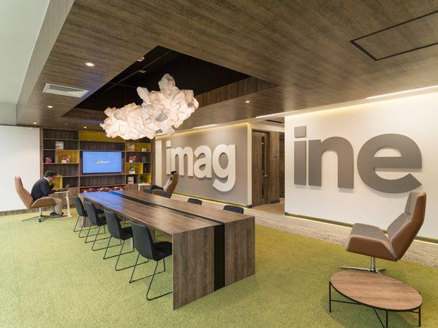 Identidad colombiana en microsoft bogot 056 ea offices for Diseno oficinas modernas bogota