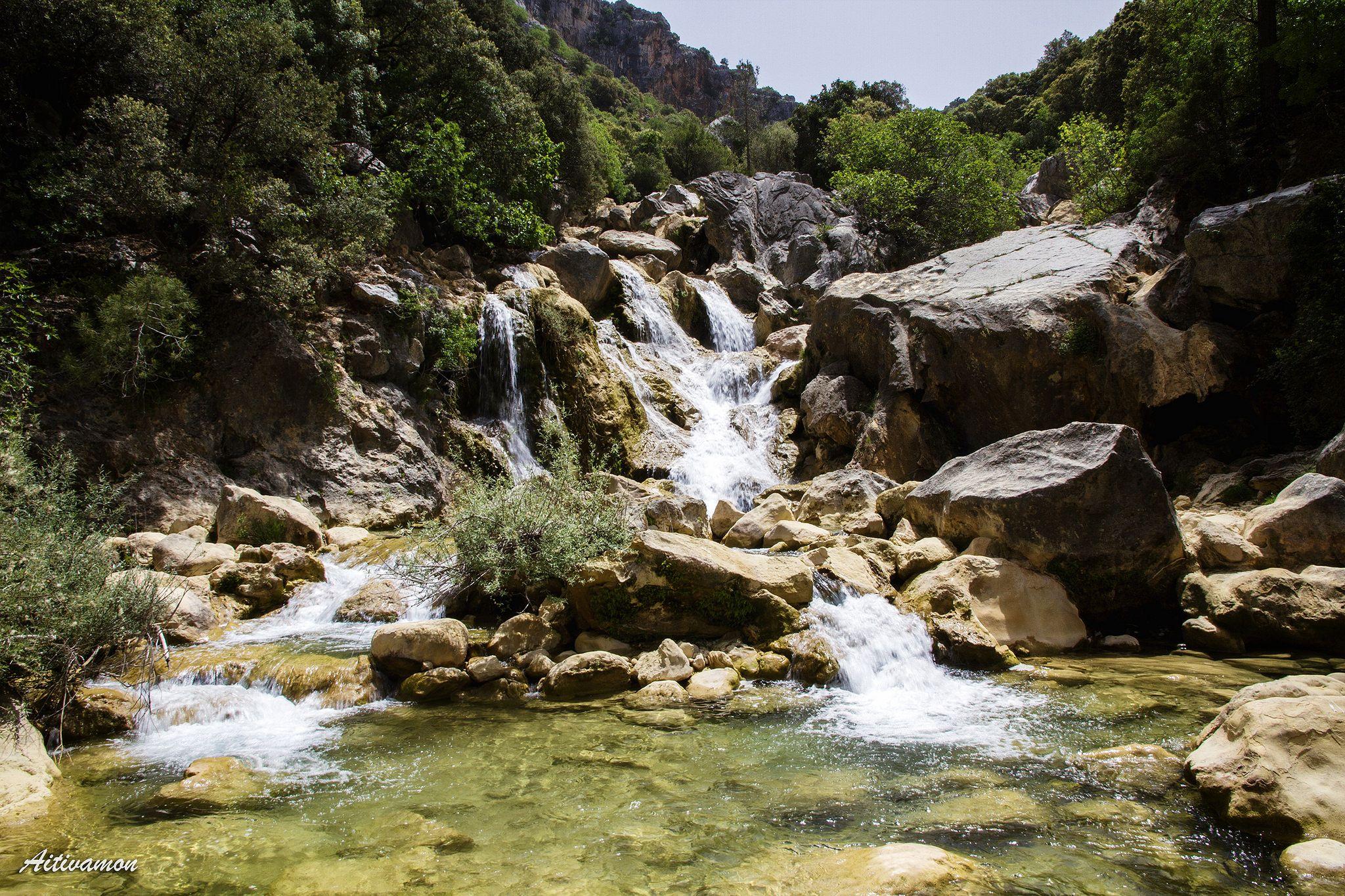 Cascada del río Guadalquivir, Cazorla, Jaén, #Spain