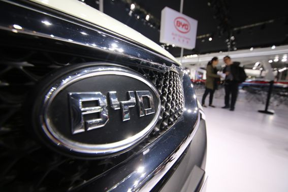 Leader Auto Sales >> China S New Energy Vehicle Leader Byd S Net Profit Fell 20