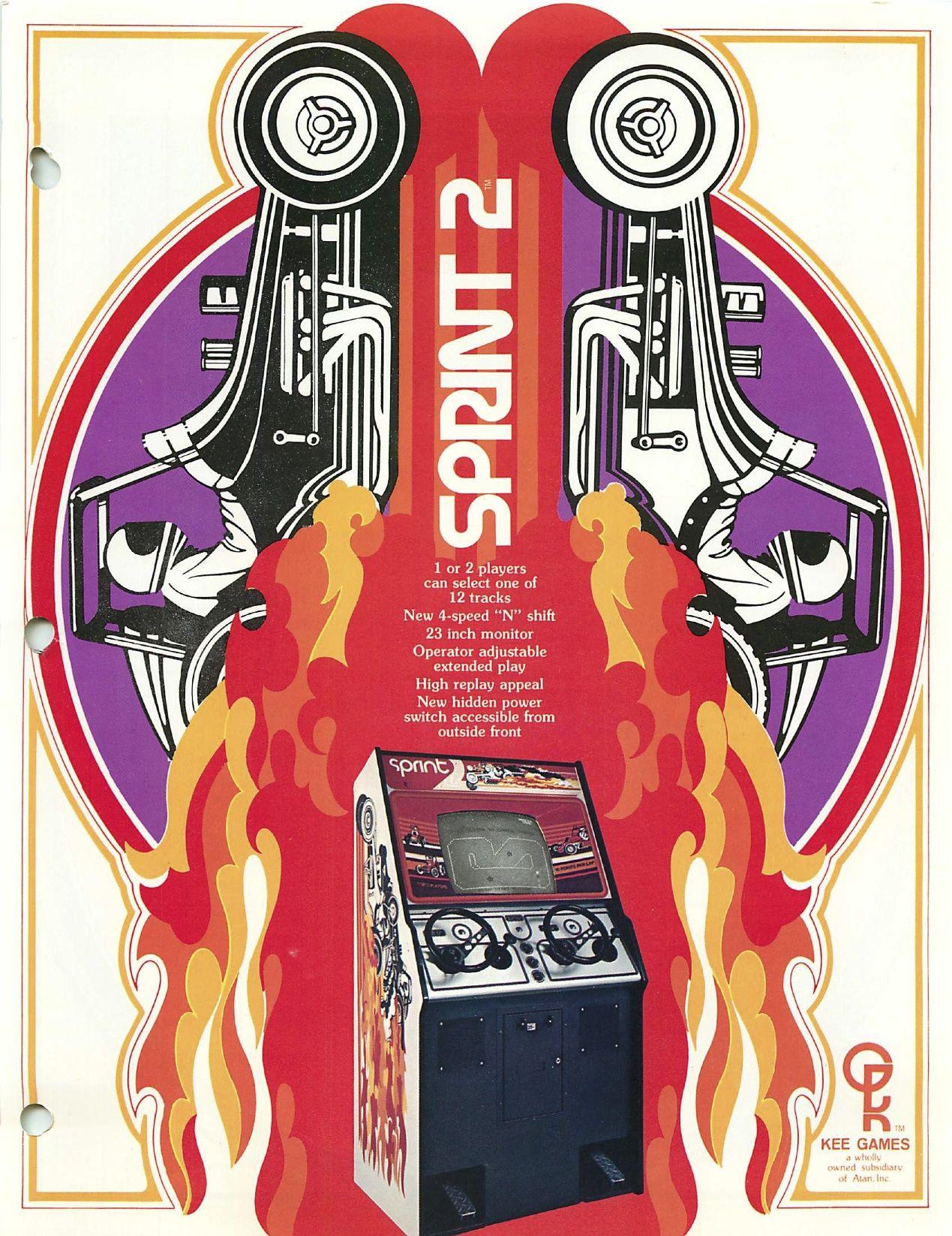 Sprint 2 - Atari - 1976