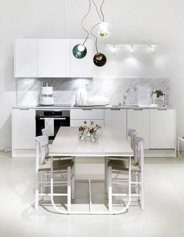 Eternity white La Maison Blanche Pinterest Diseño cocinas - Cocinas Integrales Blancas