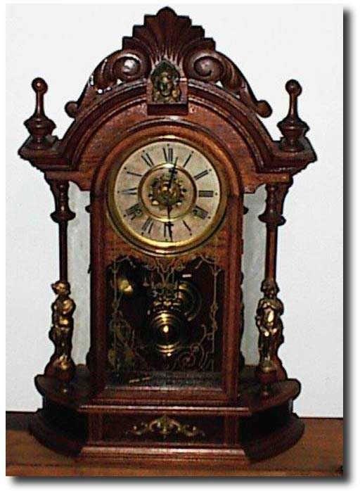Antique Clocks Antique Waterbury Clock Company Clock Reloj De