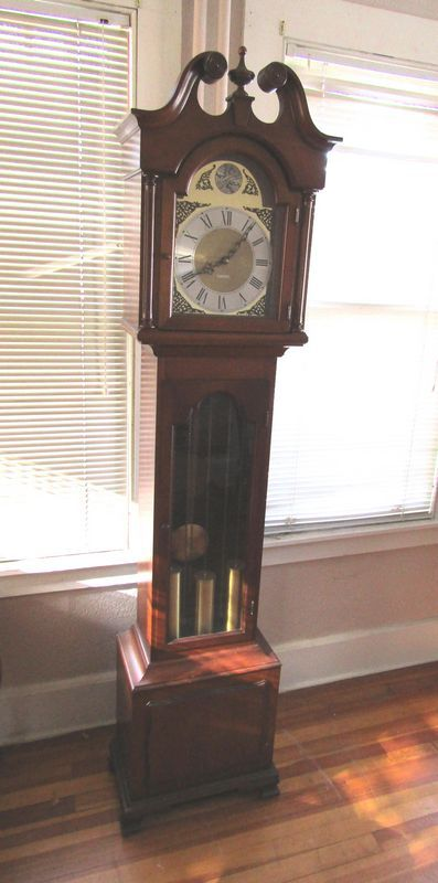 Modern Seth Thomas 80 Quot T Grandfather Clock Made In Western