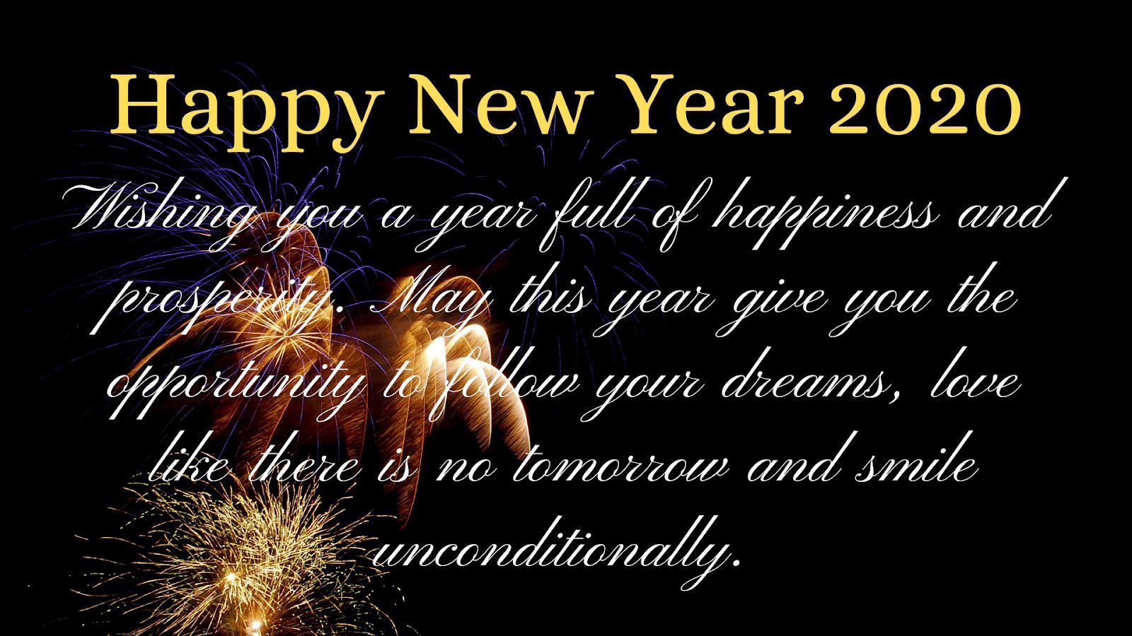 20 Unique Happy New Year 2020 Wishes