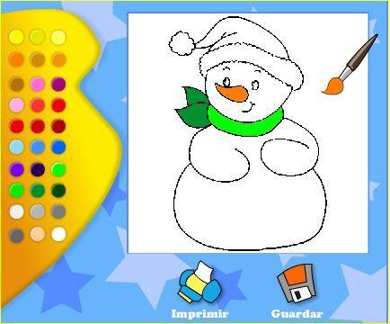 Jugando Y Aprendiendo Juntos 5 Dibujos De Navidad Para Colorear
