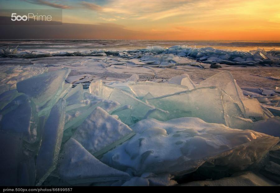 Ice Flow - Lake Superior
