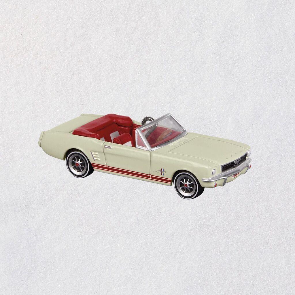 Mini Ford 1966 Mustang Lil 'Oldtimer Ornament, 0,57 Mini Ford 1966 Mustang Lil 'Oldtimer Orname