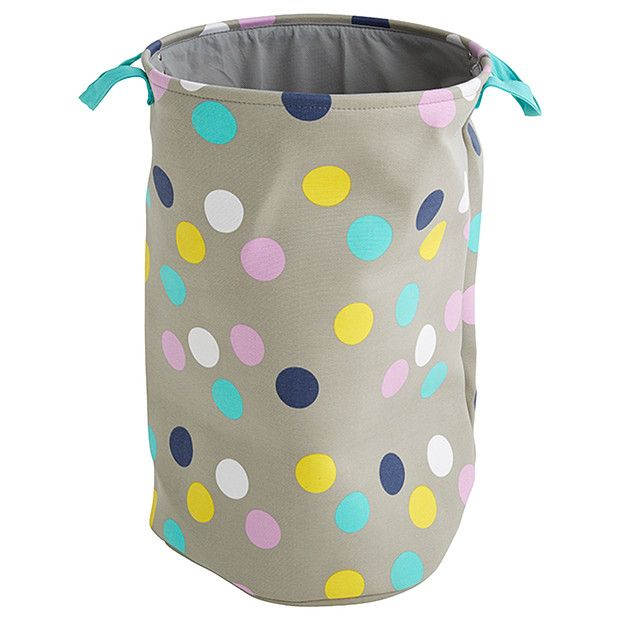 Laundry Bag Target Kids' Canvas Laundry Hamper  Polkadot  Laundry Hamper Hamper And