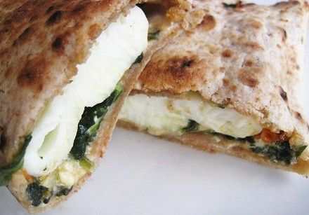 spinach wrap recipe | Starbucks Spinach Feta Wrap Recipe - National chain restaurant ...