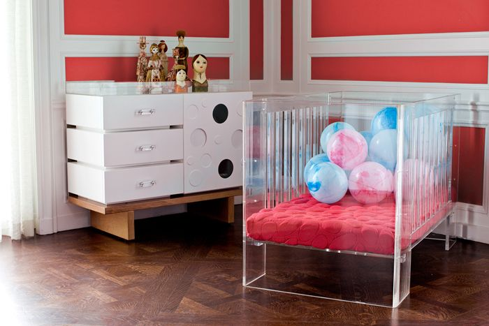 Acrylic Baby Furniture Modern baby cribs Crib and Nursery