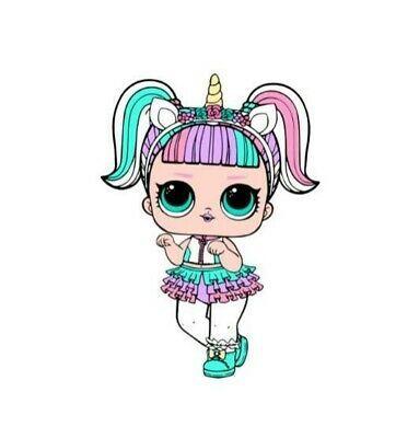 Unicorn Lol Dolls Svg Free – 314+ File for DIY T-shirt, Mug, Decoration and more