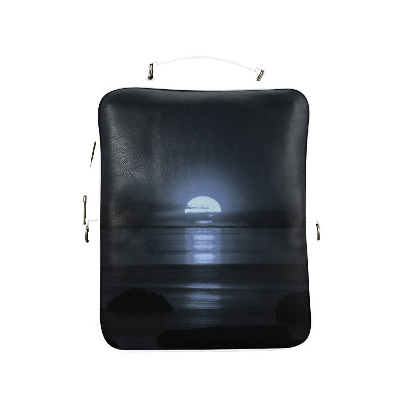 Moony Sunset Square Backpack (Model1618)