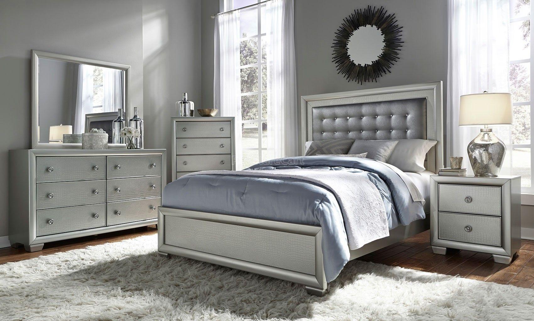 Celestial panel bedroom set samuel lawrence furniture furniture
