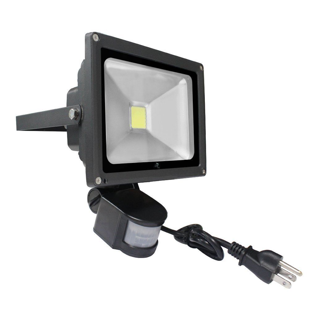 Lte 20w Motion Sensor Lights Super Bright Outdoor Led