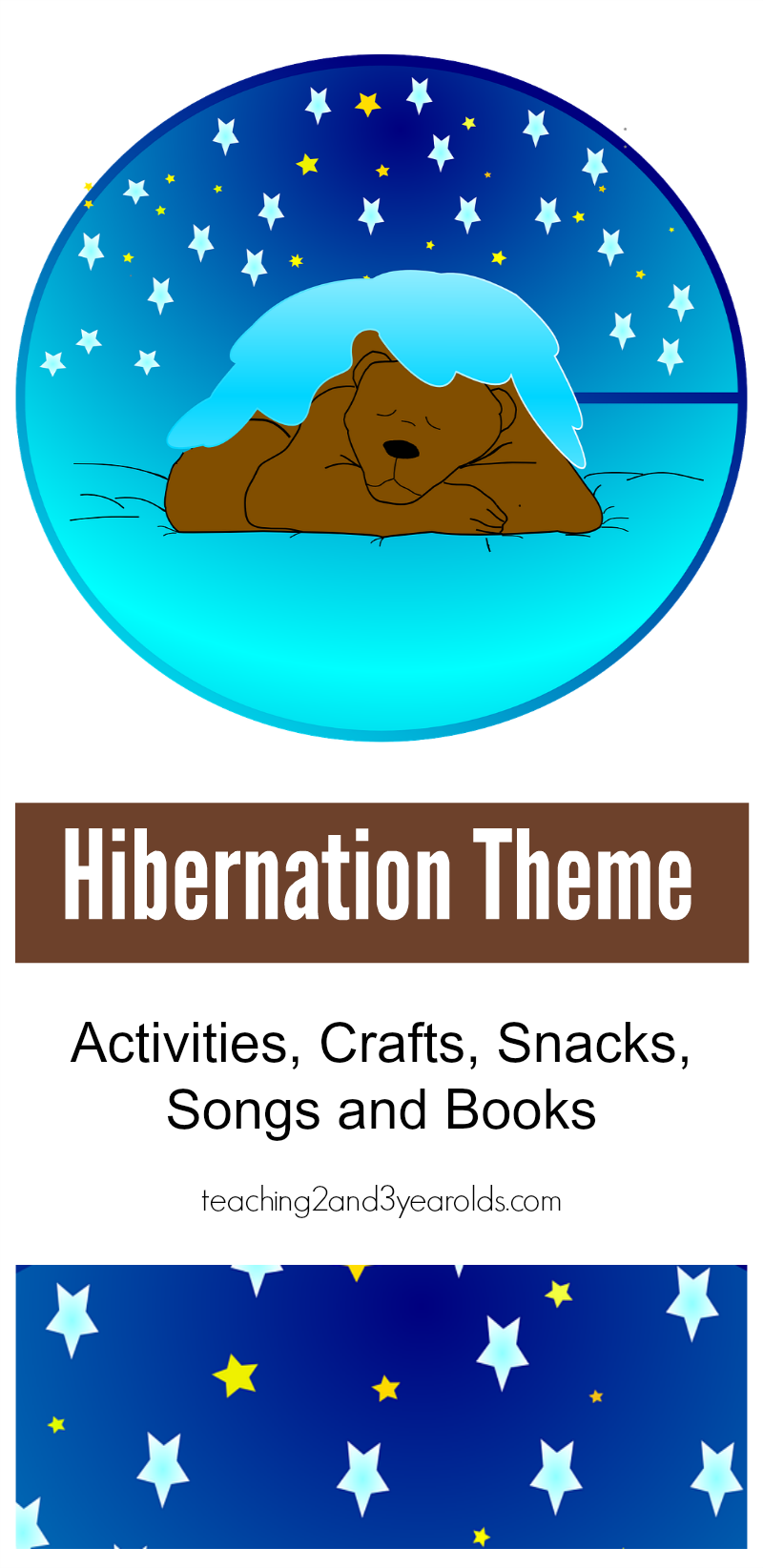 Bears Theme Preschool Lesson Plans and Activities