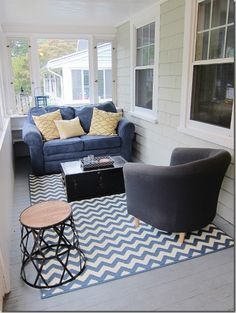 Easy Home Makeover Sun Porch Decorating Ideas
