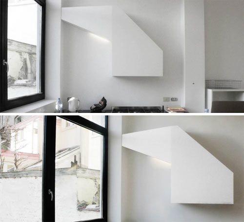 Modern kitchen hoods en cuisine r f rence et ambiance - Hotte de cuisine montreal ...