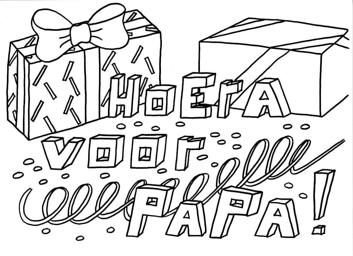 Https Kleurplaatje Nl Wp Content Uploads Verjaardag Papa Jpeg In 2021 Verjaardag Kaarten Verjaardag Papa Verjaardag