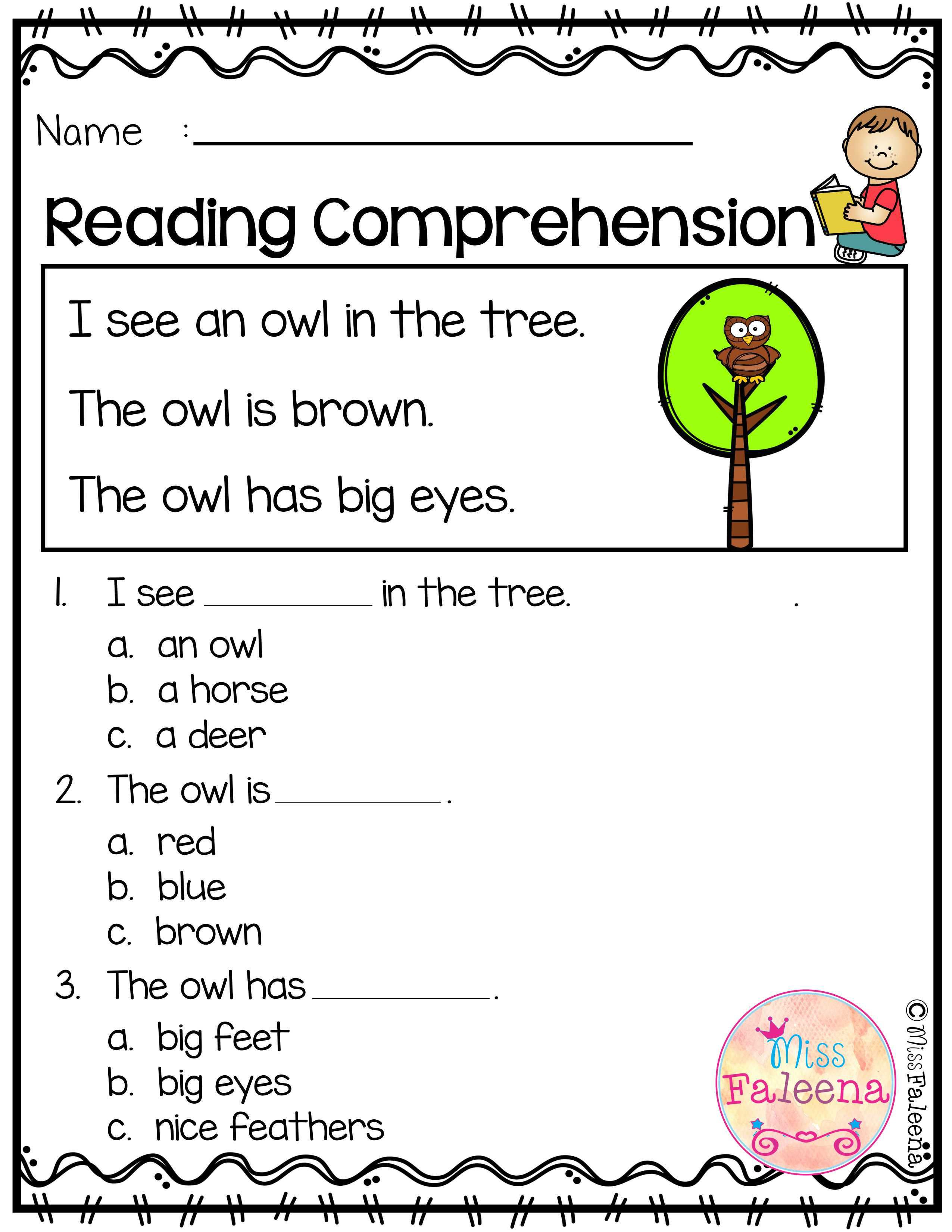 September Reading Comprehension Is Suitable For Kindergarten Students Reading Comprehension Reading Comprehension Kindergarten Reading Comprehension Worksheets [ 3301 x 2551 Pixel ]
