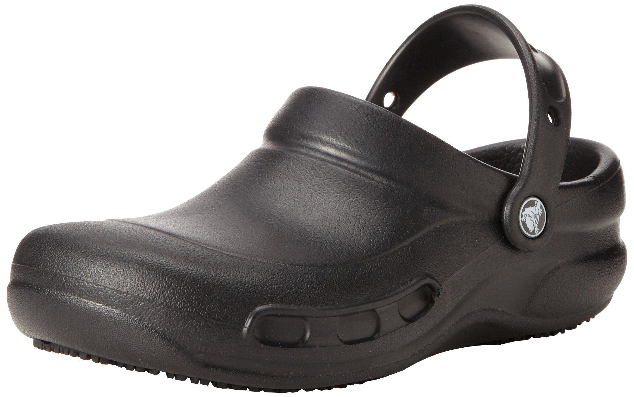 Crocs Mens Crocs Bistro Slip On Breathable Croslite Work Clog pBGJQ