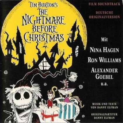 The Nightmare Before Christmas German Soundtrack Nightmare Before Christmas Nightmare Before Nightmare
