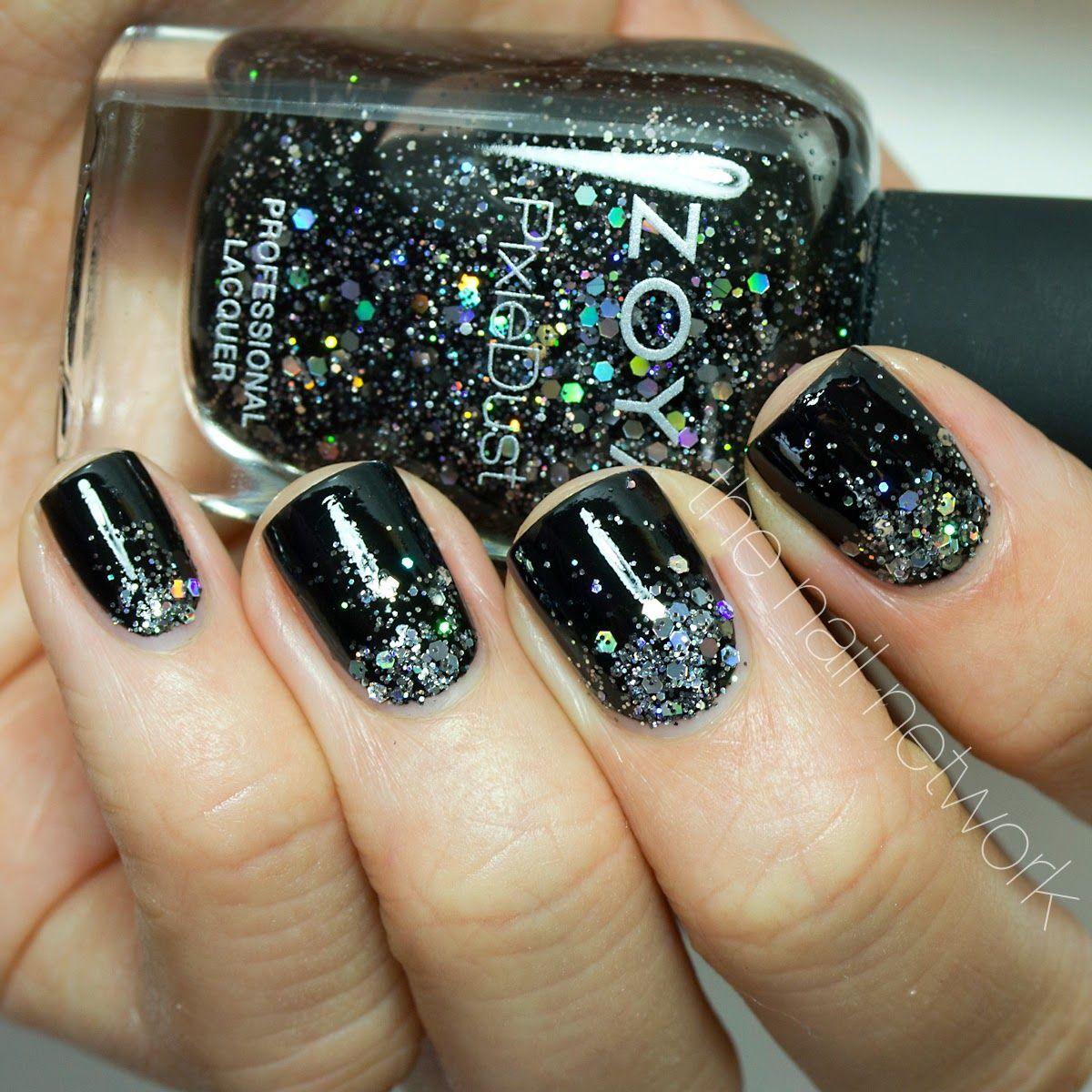 Black Friday Glitter Gradient With Zoya Wishes