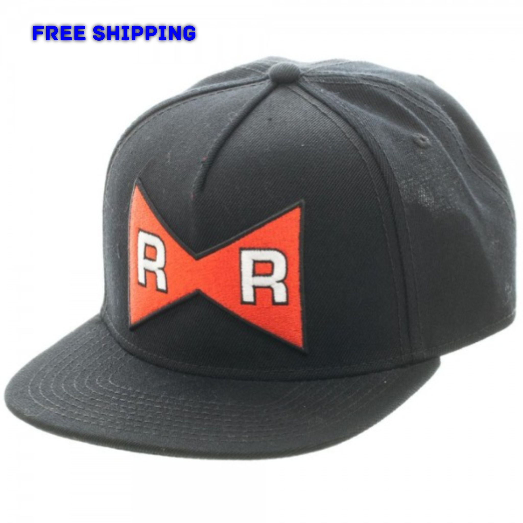 Dragon Ball Z Red Ribbon Army Logo Snapback Cap Hat Officially Licensed NEW! ed0bee23bb8
