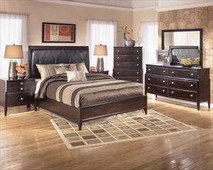 Ashley Four Piece Queen Bedroom Set Nebraska Furniture Mart 1 139 99 In The Bedroom In