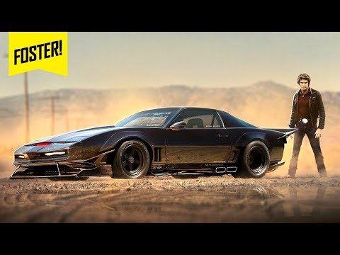 Kitt Jamás Hablo Con Nadie Los Secretos Del Auto Fantástico Youtube Knight Rider Pontiac Firebird Rider
