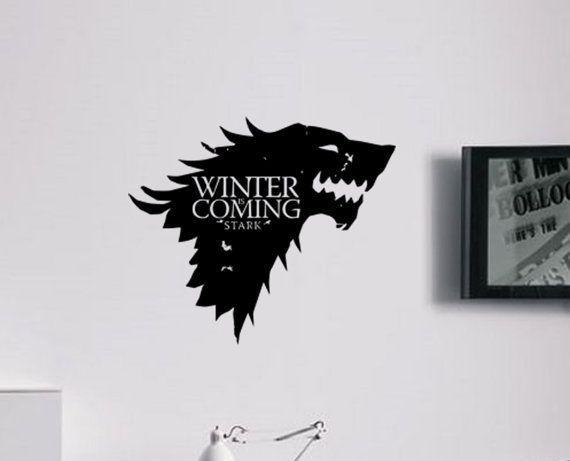 Grande Gioco Di Troni Stark House Inverno E Di Boultonsgraphics Decal Wall Art Kindle Fire Case Game Of Thrones Winter