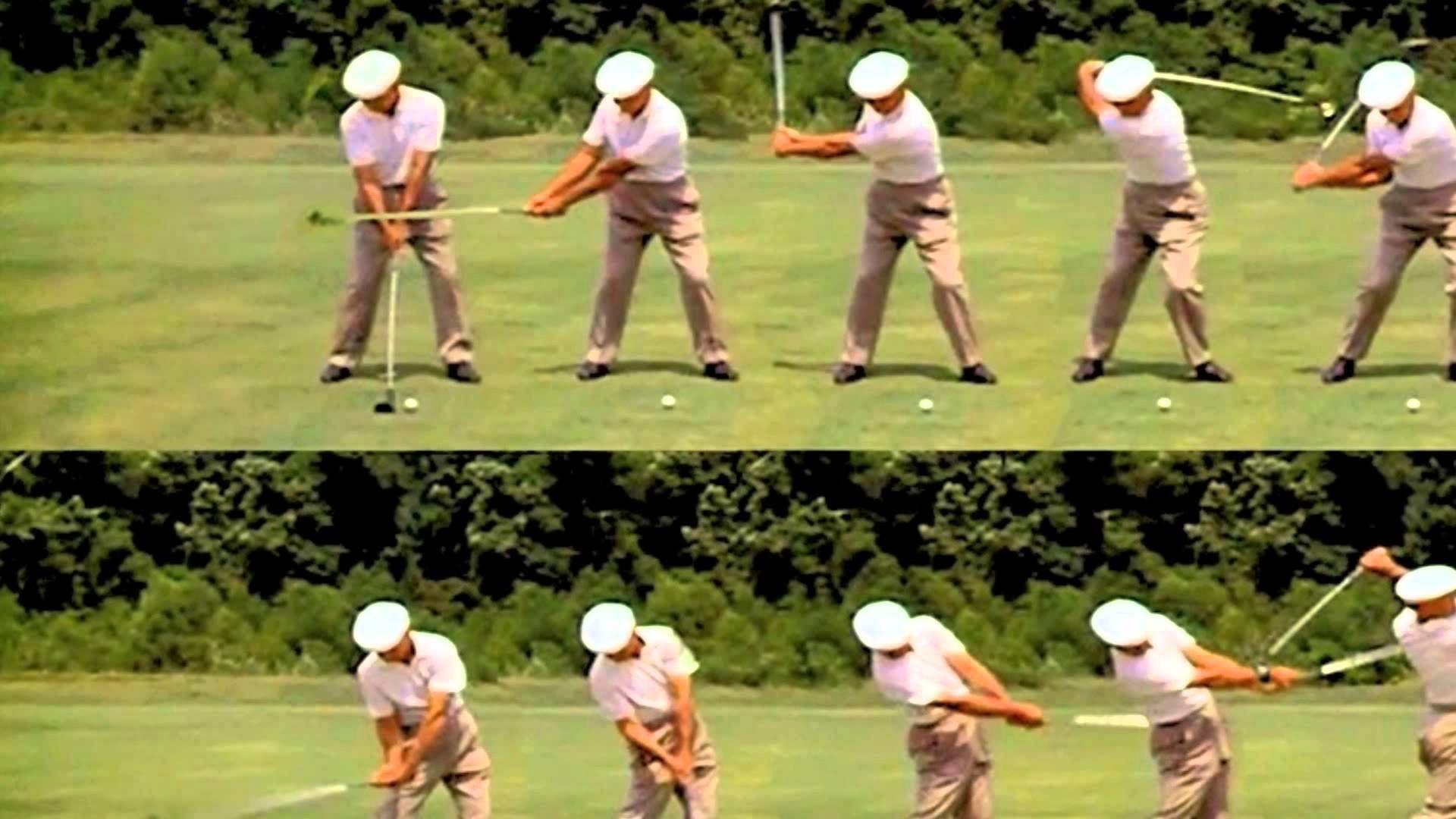 Ben Hogan Golf Swing Sequence - YouTube. ScenicCityGolf.com ...