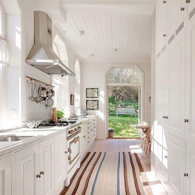Galley Kitchen Blueprints: 47 Best Galley Kitchen Designs
