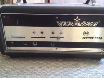 Vermona Regent 600B Bassverstärker Basstopteil in Sachsen-Anhalt - Wörlitz | Musikinstrumente und Zubehör gebraucht kaufen | eBay Kleinanzeigen