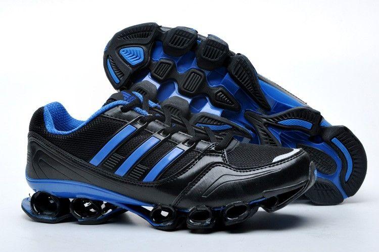 official photos f7043 abe6a Adidas Bounce Titan Mens Black Blue Silver Running Shoes adidas bounce mens  Regular Price   150.00