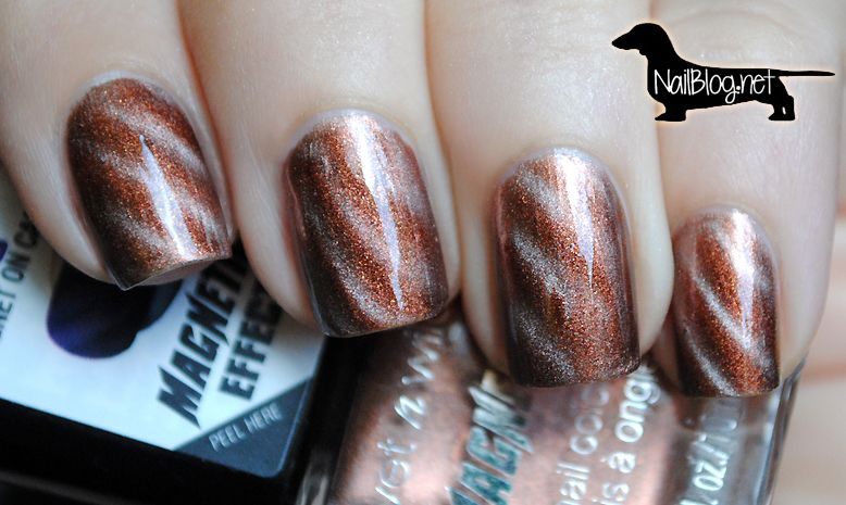 Wet n Wild Magnetic Polish I WON\'T REPEL YOU (my first magnetic ...