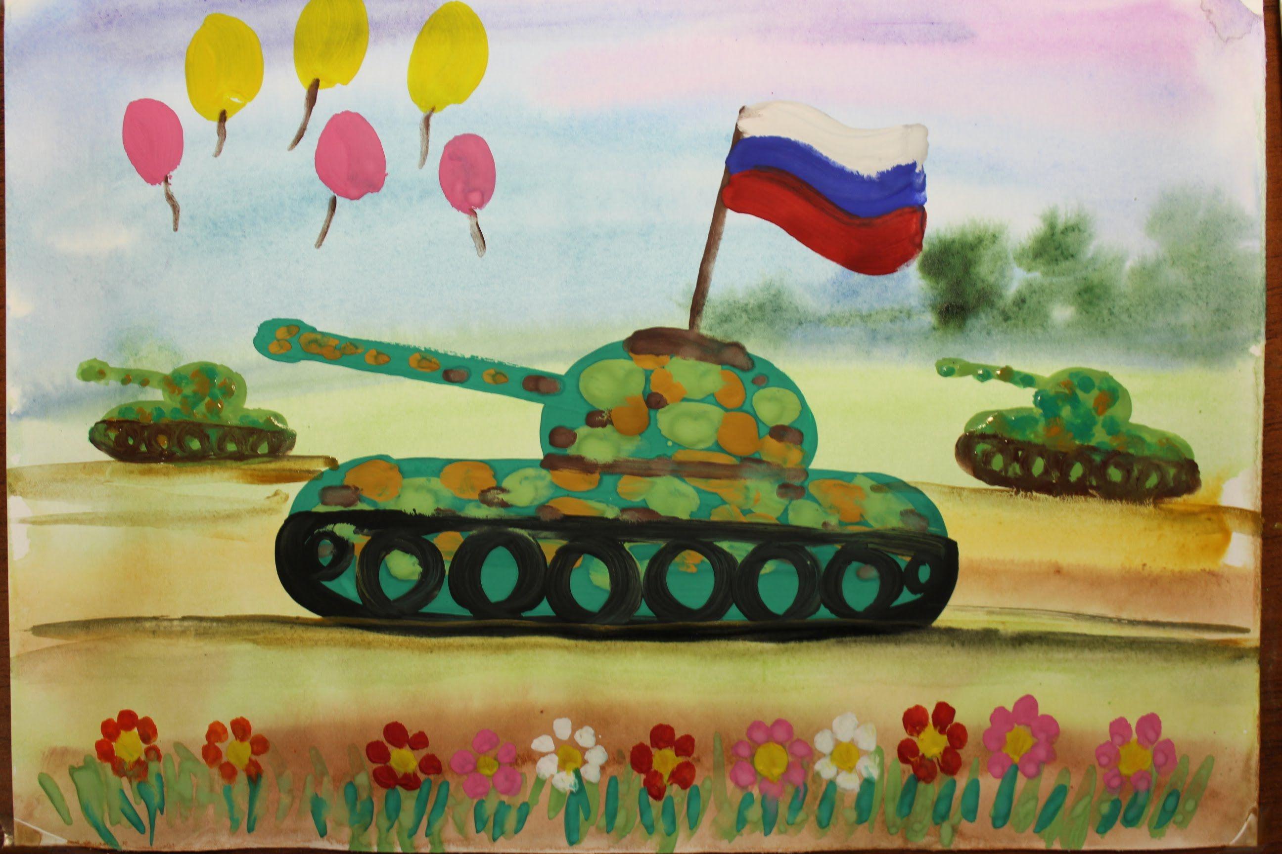 Kak Narisovat Tank Poetapno Video Urok Dlya Detej 4 6 Let