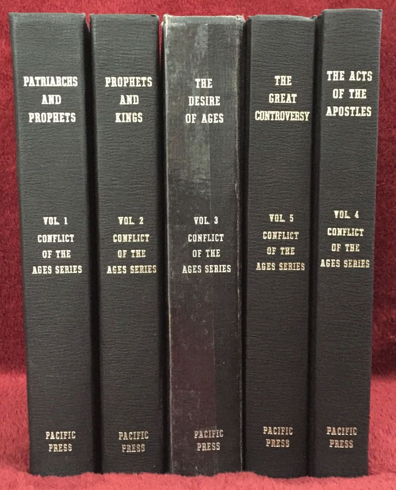 Ellen G White Conflict Of The Ages 5 Books Series Adventist