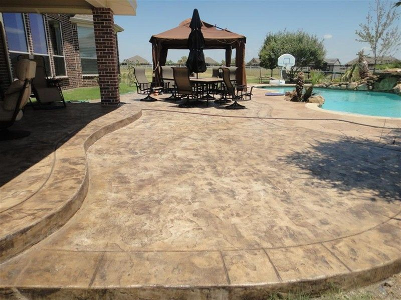 View Our Decorative U0026 Stamped Concrete Gallery   We Can Help You Make Your  Patio Either Look Like A Flagstone, Slate Or Brick Along With Number Of  Designs ...