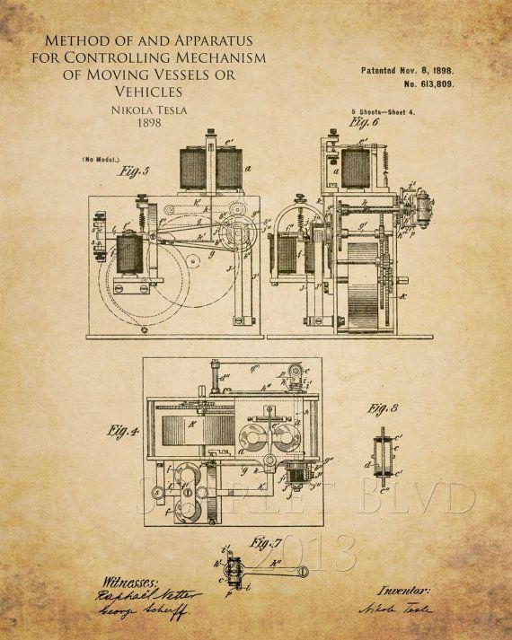 Nikola tesla radio control patent pinteres nikola tesla radio control patent more malvernweather Choice Image