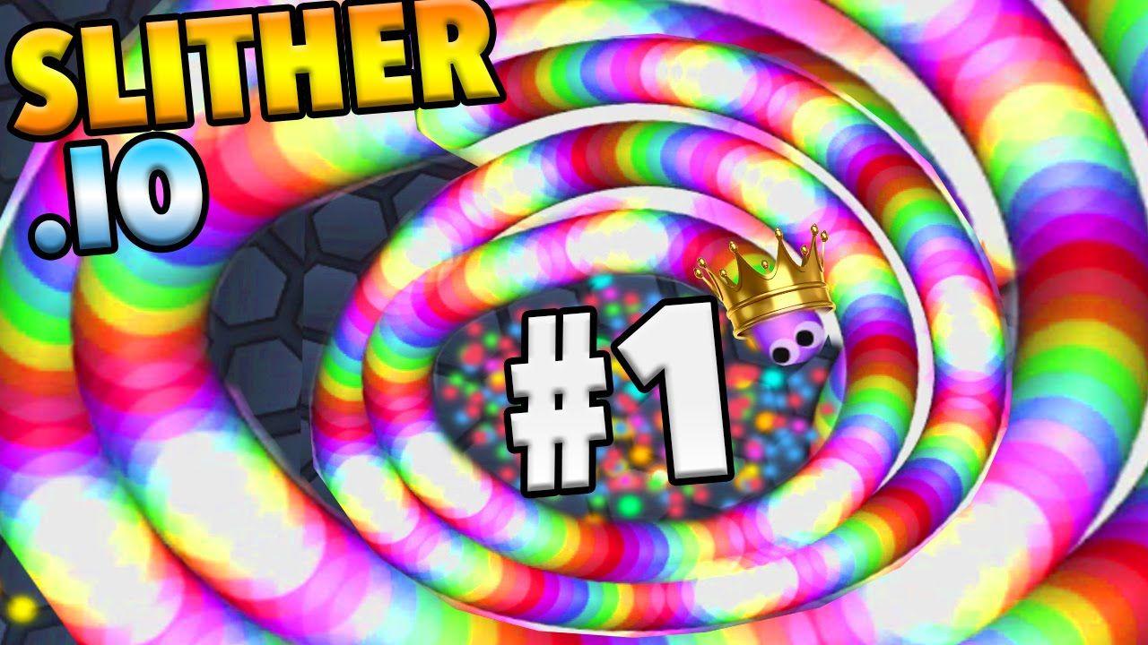 Slither Io Hitting 1 Million Subs 100k Biggest Slither Io Snake Slither Io Gameplay Slither Io Slitherio Slither Io Hacks Funny Gif