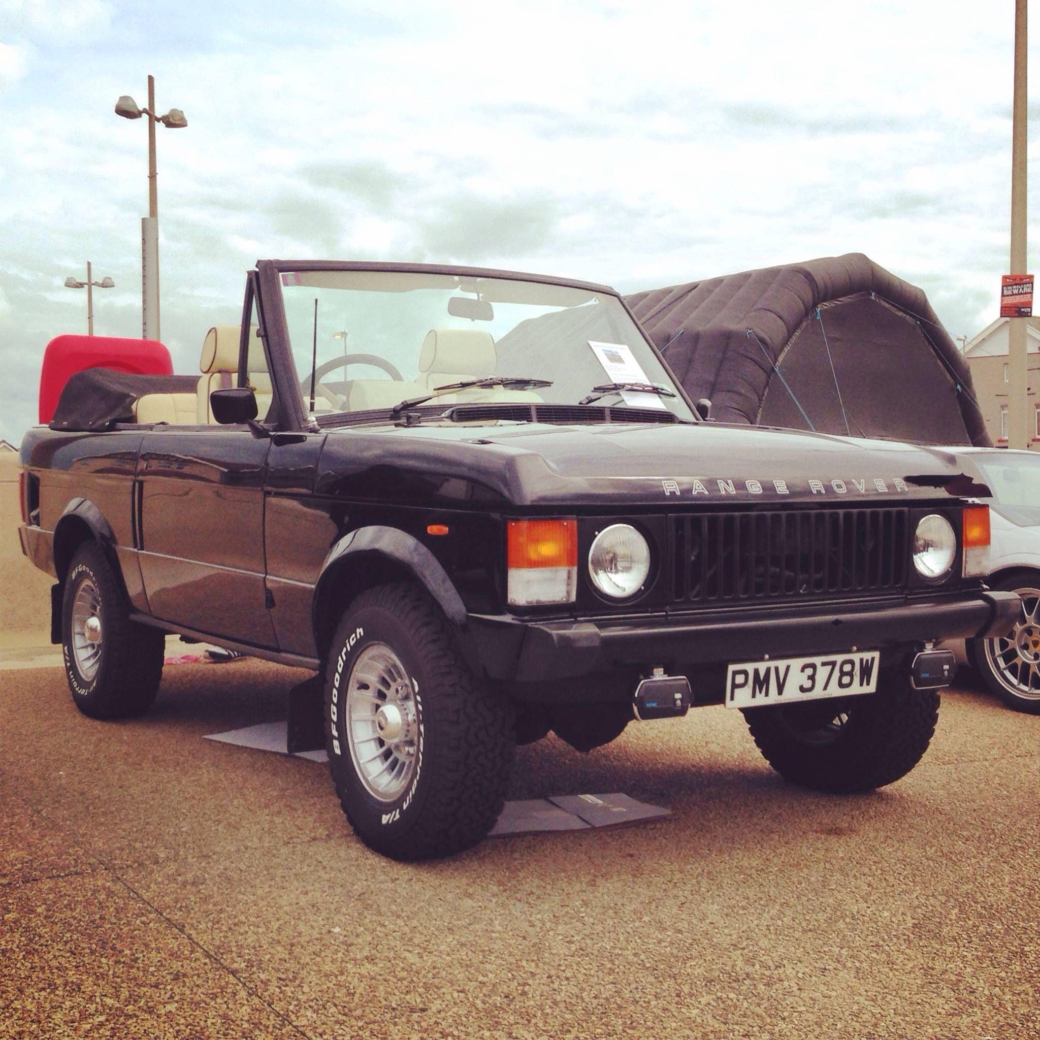 Range Rover Classic Conertible